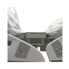 Dual auto-regression system of the mattress platform sections