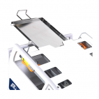X-Ray capable patient bed section