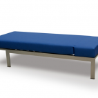Removable seat and back sections