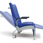 Movable back and leg rests sections
