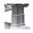 Three rectangular columns elevation system